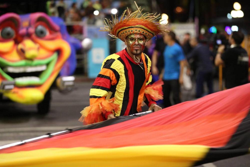 В столице Уругвая стартовал самый продолжительный в мире карнавал
