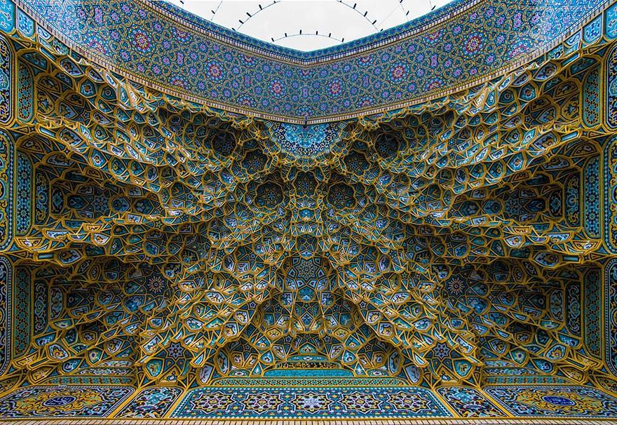 Гипнотизирующие своды мечетей