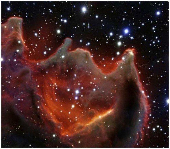 Космические фото бесконечности Вселенной