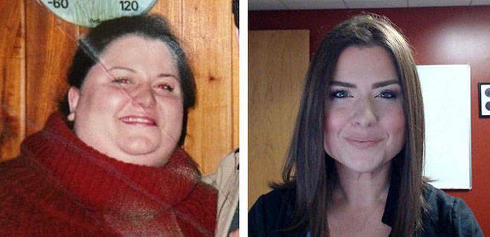 Преображение людей, одолевших лишний вес