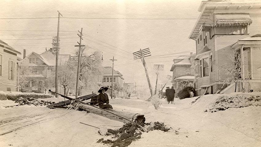 Самые сильные снегопады в истории