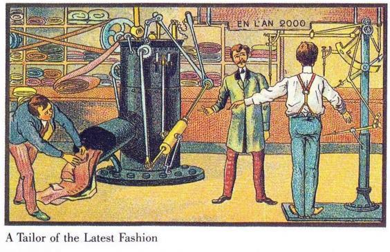 Как представляли будущее 100 лет назад