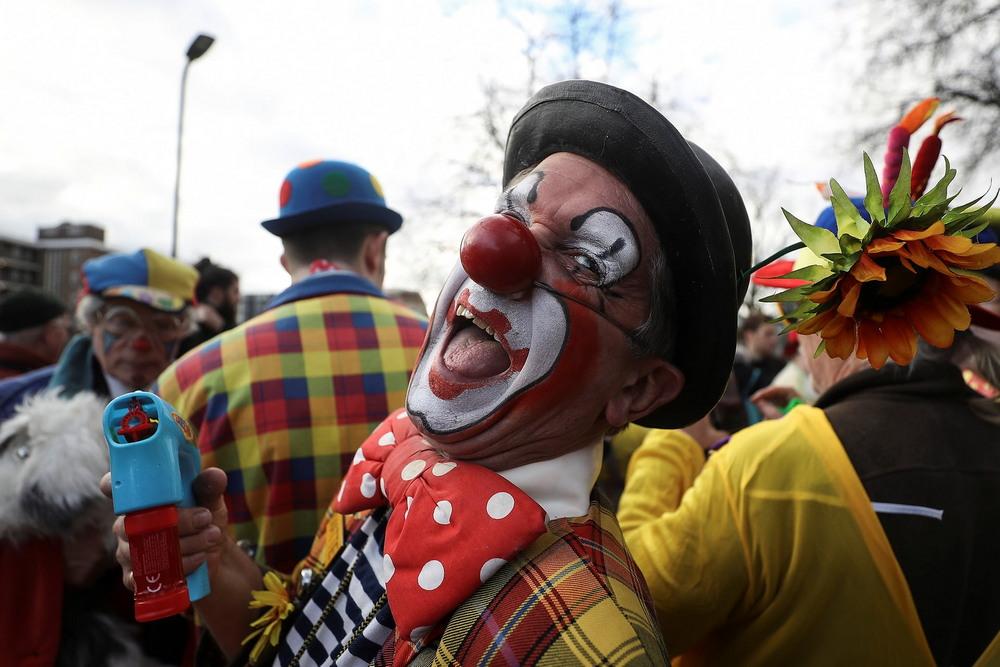 Ежегодная поминальная служба клоуна Гримальди