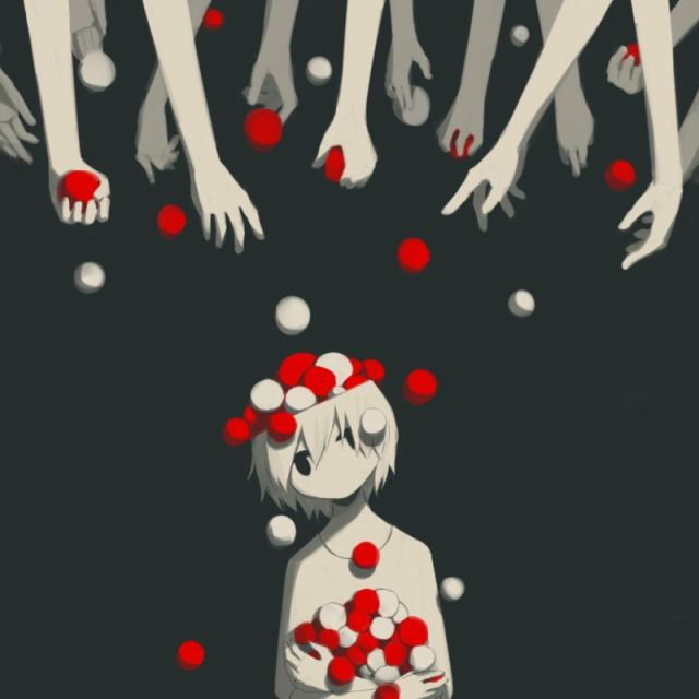 Сложные чувства в иллюстрациях японского художника