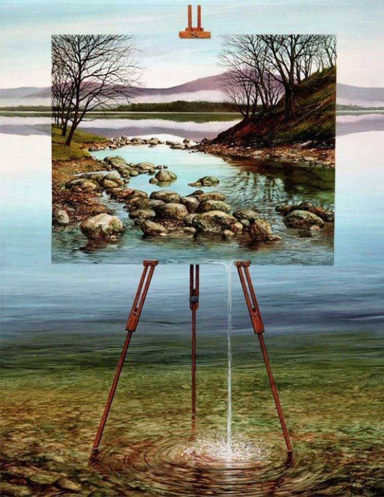 Сюрреалистические пейзажи от Нила Симона