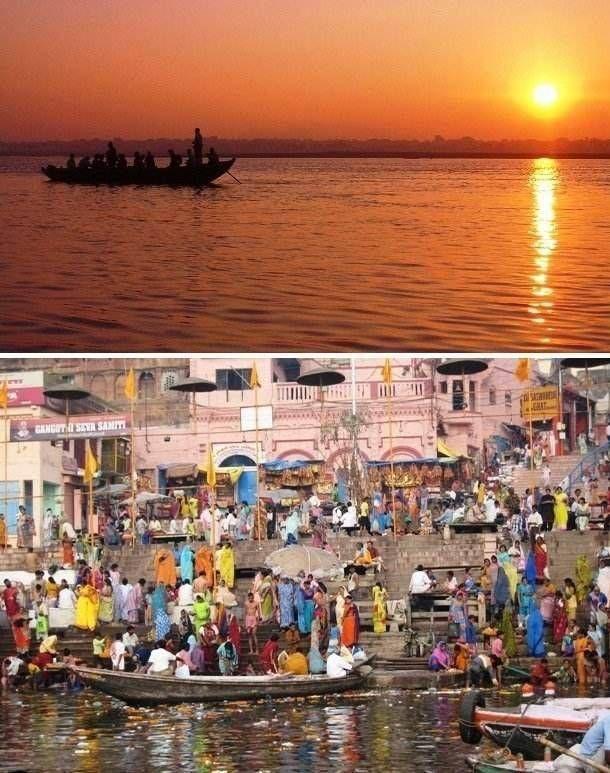 Популярные туристические места: на фото и в реальности