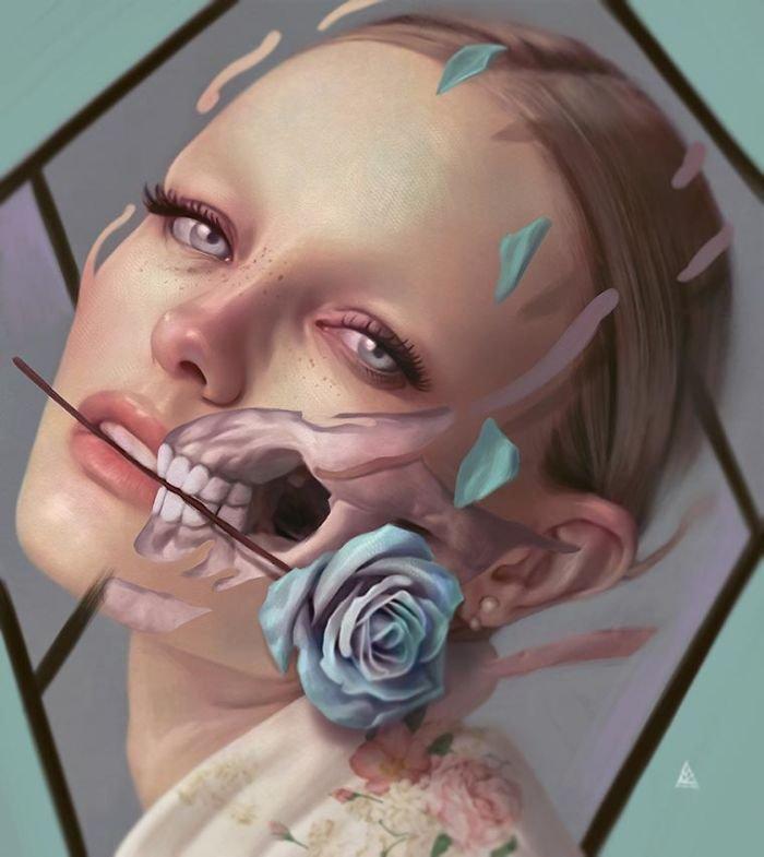 Сюрреалистические иллюстрации Айкута Айдогду