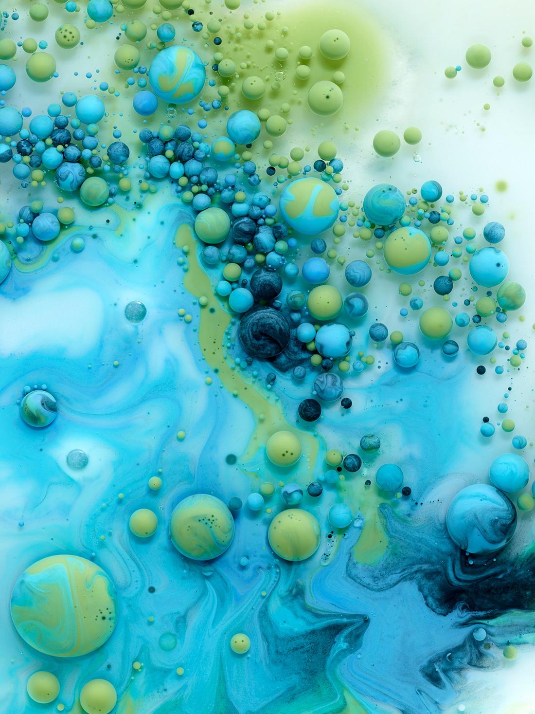 Жидкие ландшафты на снимках Марселя Криста