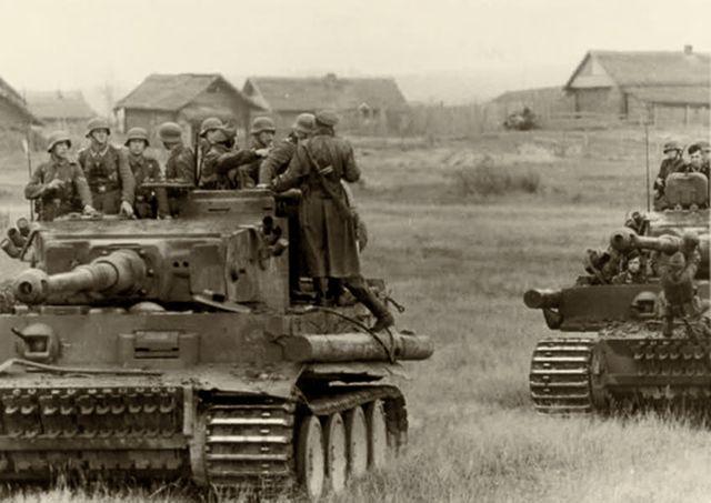 Для чего танку привязанное бревно