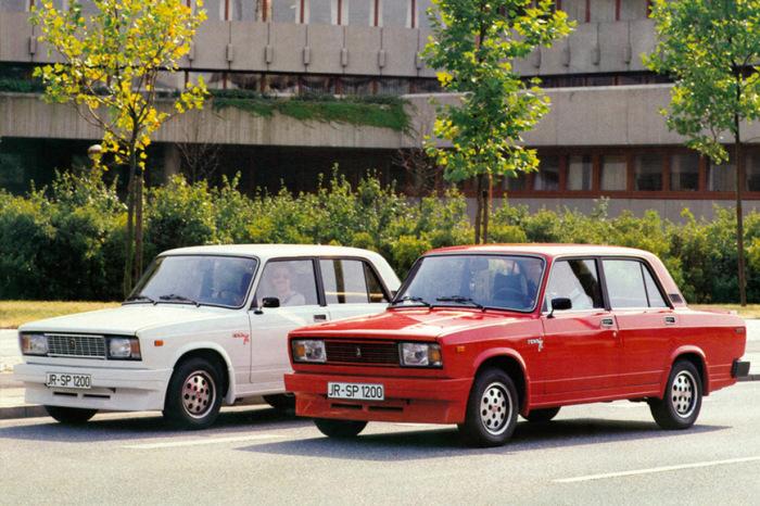 Иномарки, на которых ездили советские водители