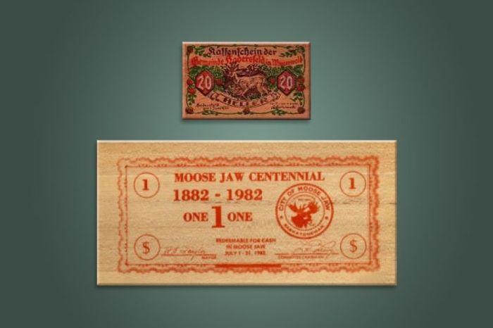 Необычные платежные средства в истории