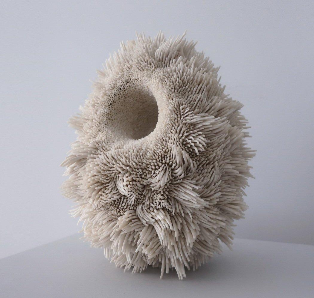 Скульптуры из морских ракушек от Роуэна Мерша