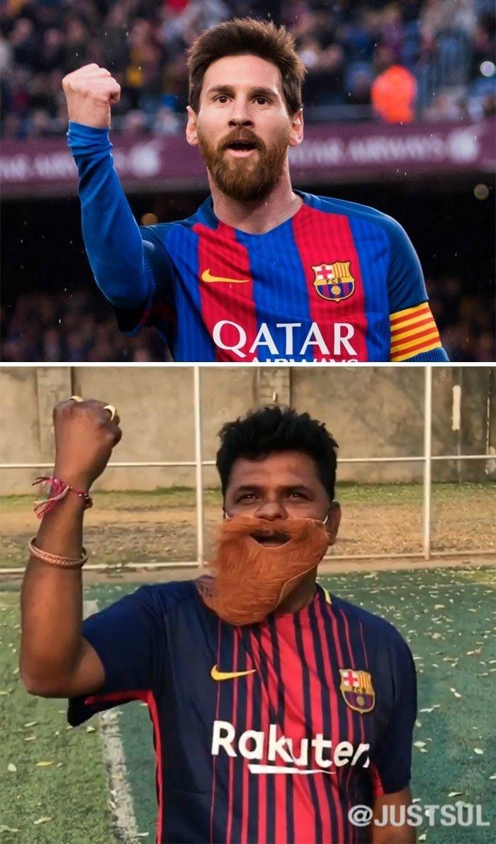 Индийский инженер пародирует знаменитостей в Инстаграме