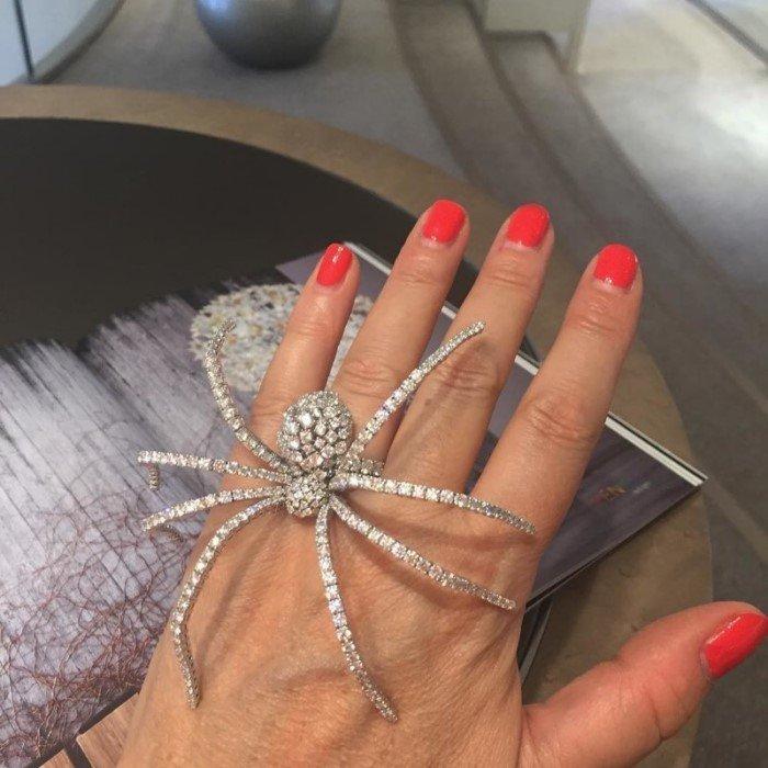 Необычные кольца из разных материалов