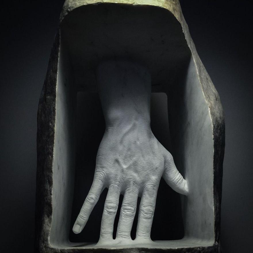 Невероятно реалистичные скульптуры от мастера из Италии