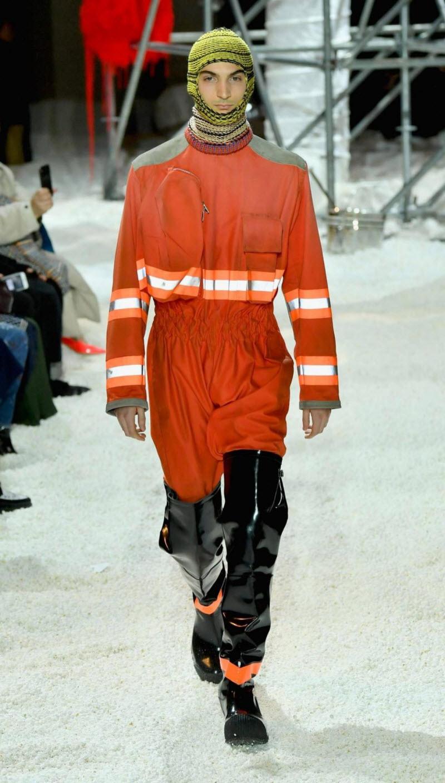 Новая коллекция одежды для пожарников от Кельвина Кляйна