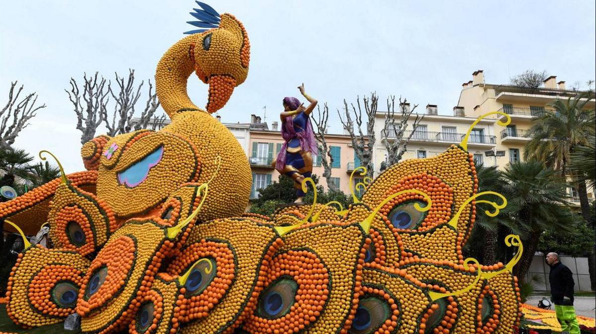 Лимонный фестиваль во Франции 2018