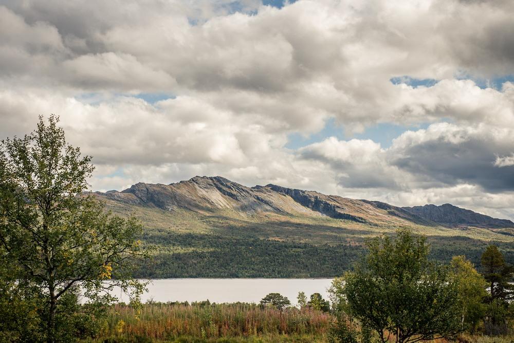 Современная версия горного приюта в Норвегии