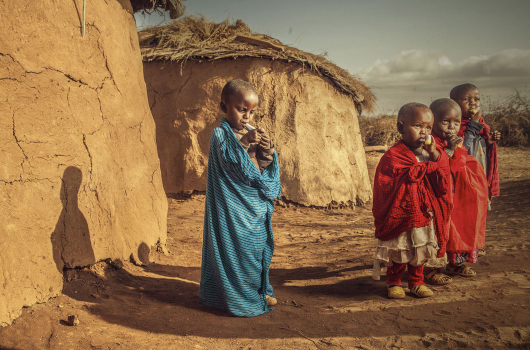 Позитивная кенийская атмосфера на снимках Кабута Каго