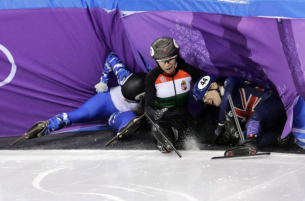 Неудачи и падения спортсменов на Олимпийских играх 2018