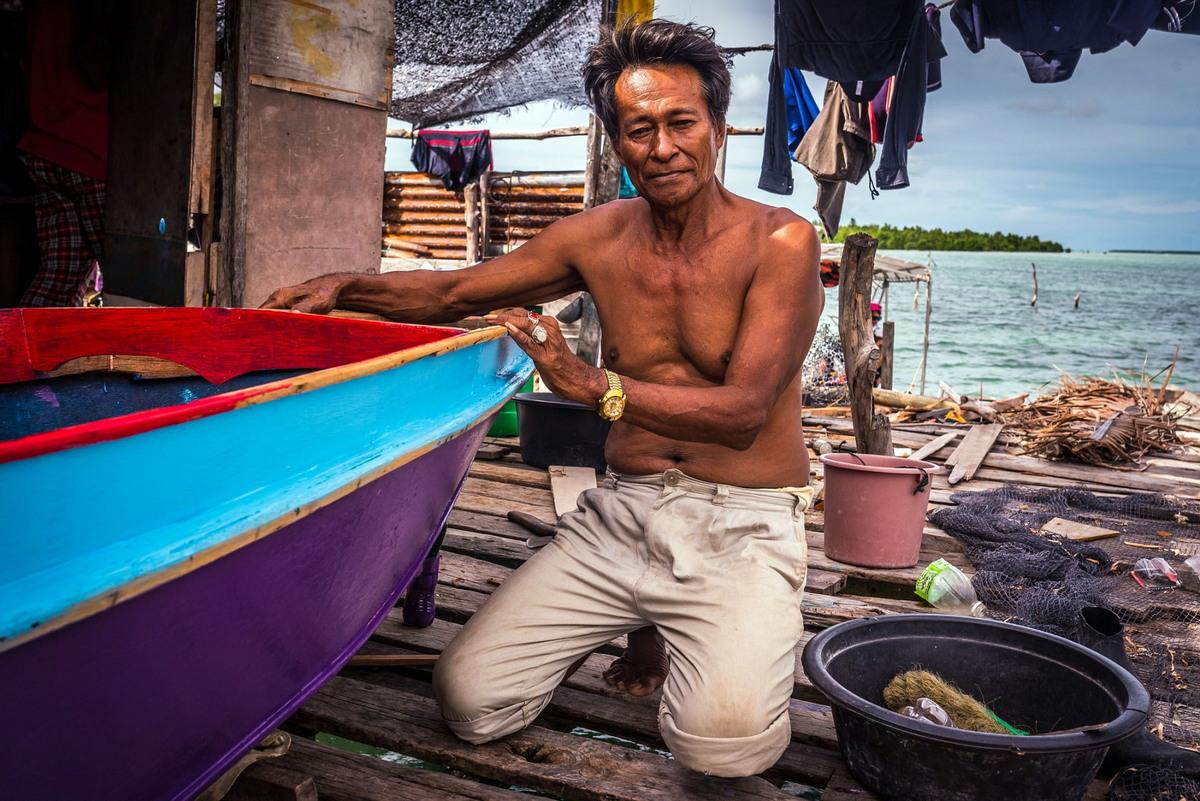 Удивительные фотографии жизни племени баджо