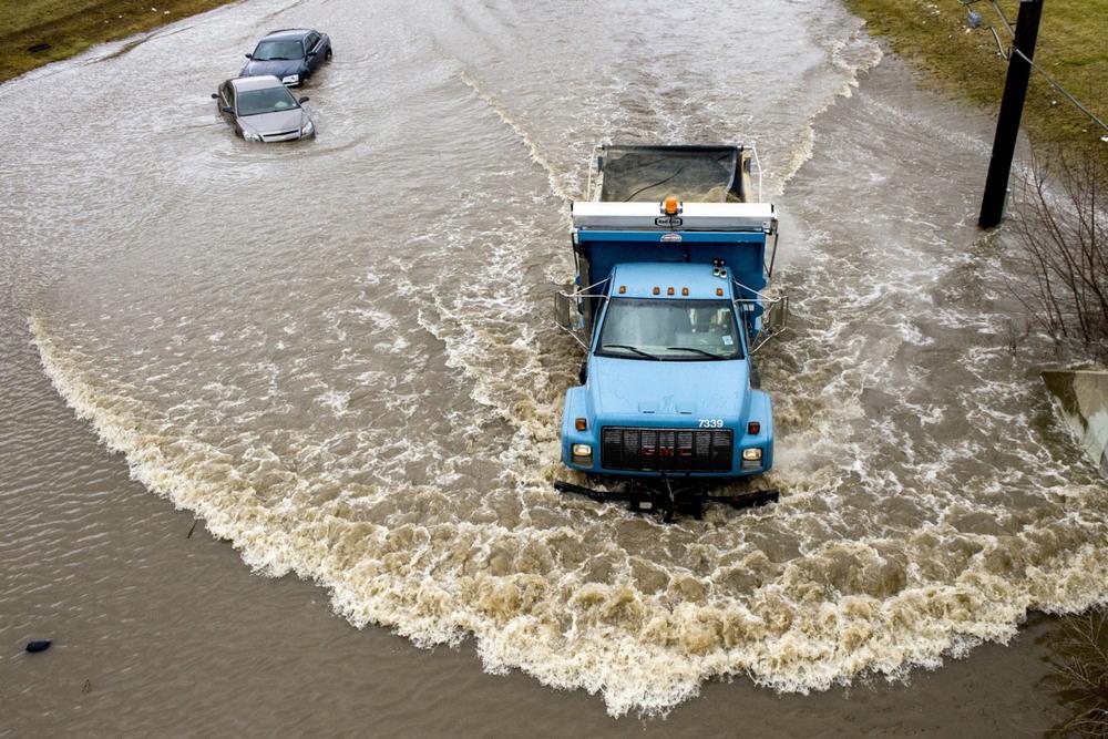 Запад США оказался под водой из-за сильных дождей