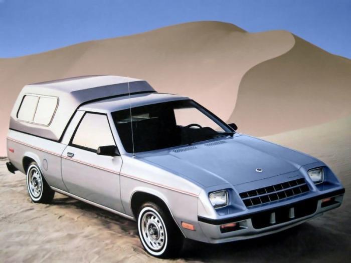 Rampage - самый маленький пикап Dodge