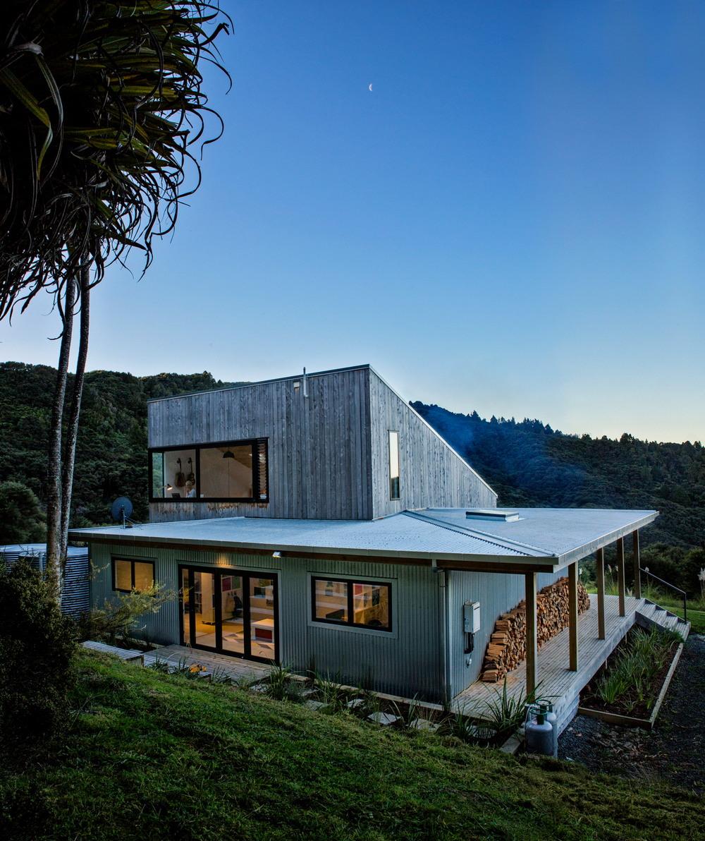 Дом для молодой семьи в Новой Зеландии