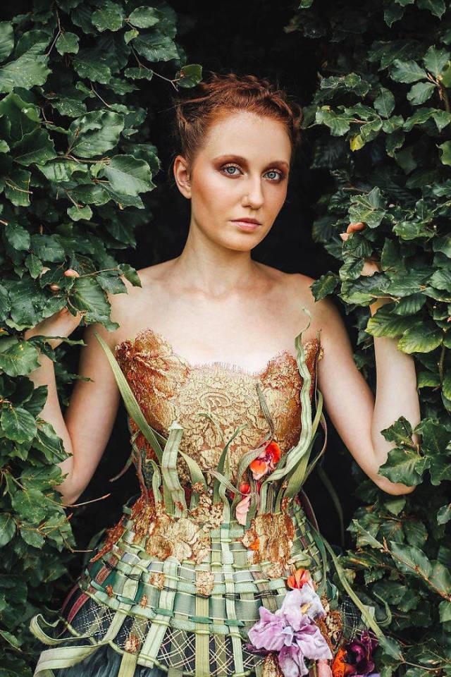 Платья как искусство от Сильви Фэкон
