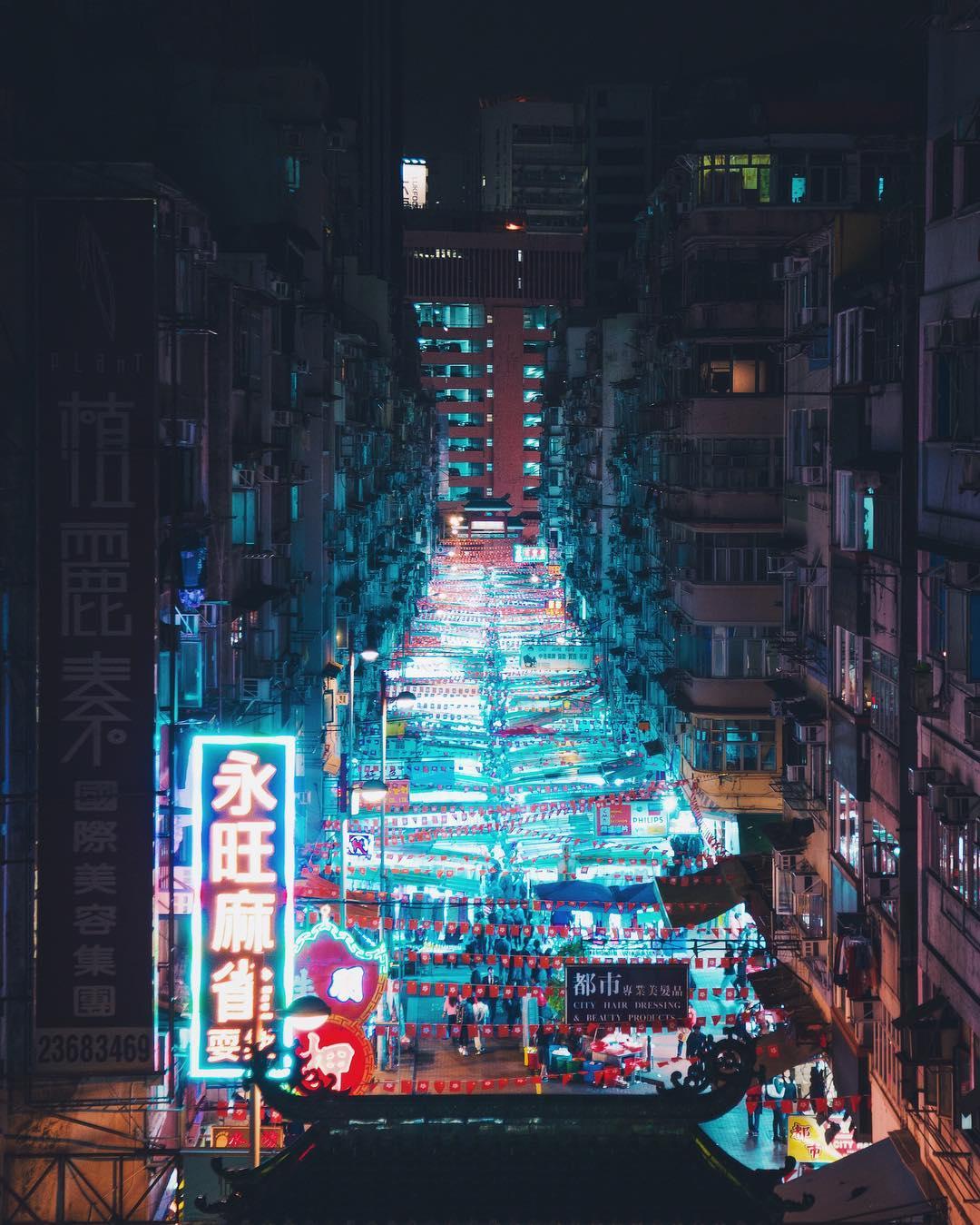 Городские пейзажи и природа от Бенджамина Ли