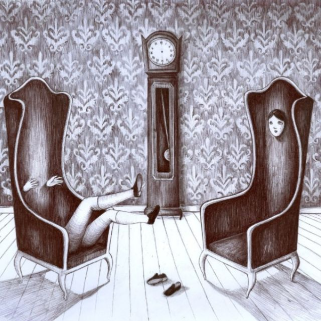 Невероятные артхаусные картины Вирджинии Мори