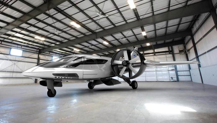 Новые самолеты необычной формы