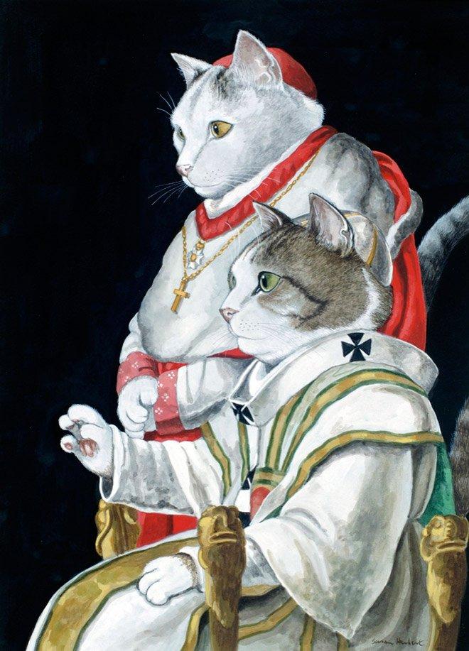 Классические картины с кошками в главной роли