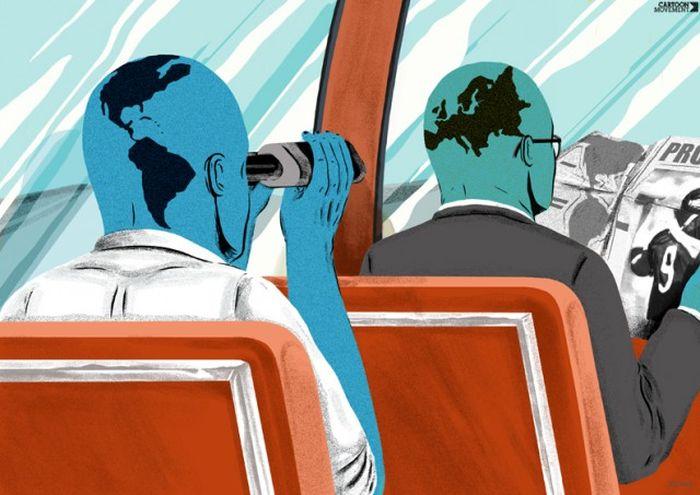 Проблемы современного общества в картинках со смыслом