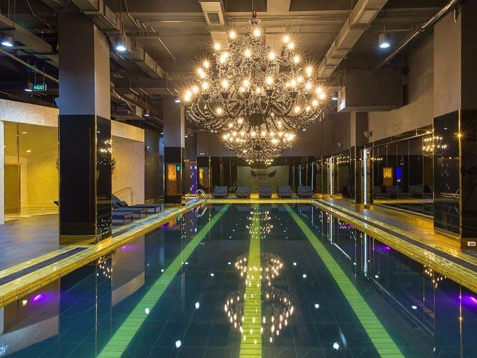 Самый роскошный спортзал в Азии