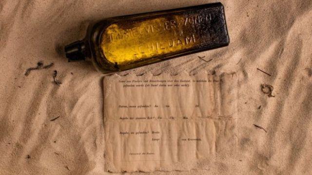 Послание из прошлого в бутылке