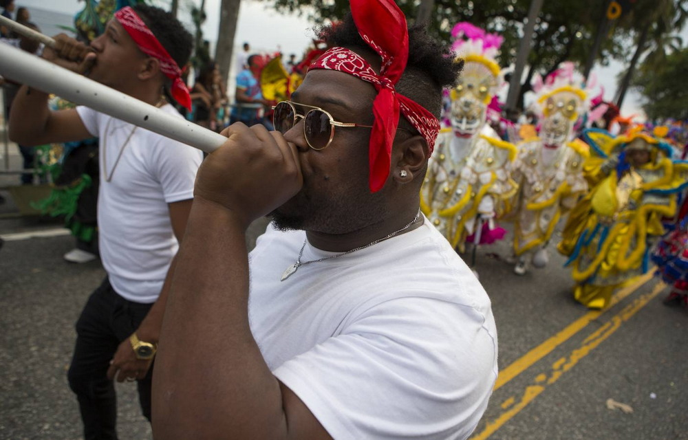 Завершение карнавального сезона в Доминиканской Республике