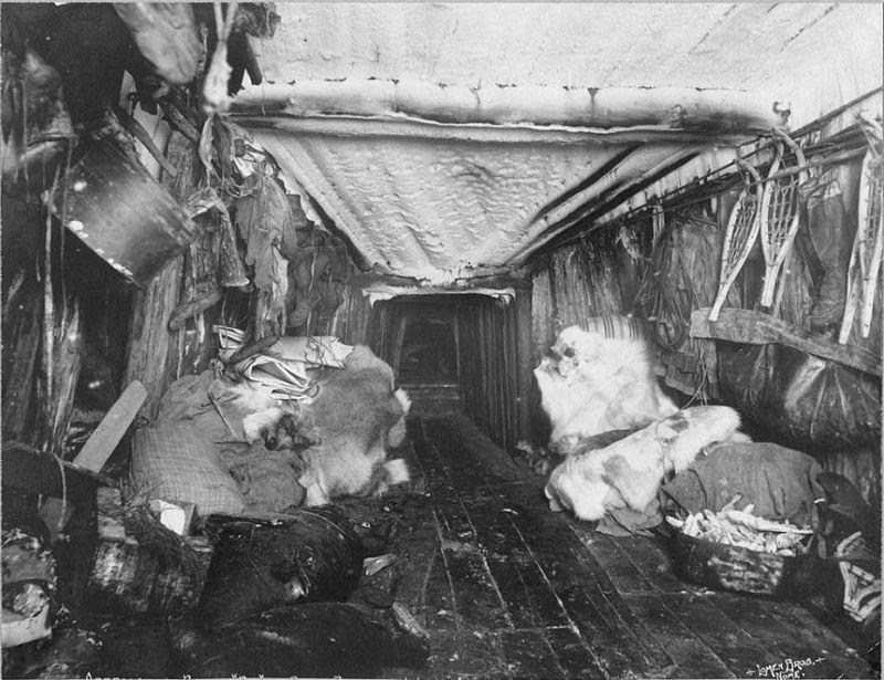 Жизнь эскимосов Аляски во времена золотой лихорадки