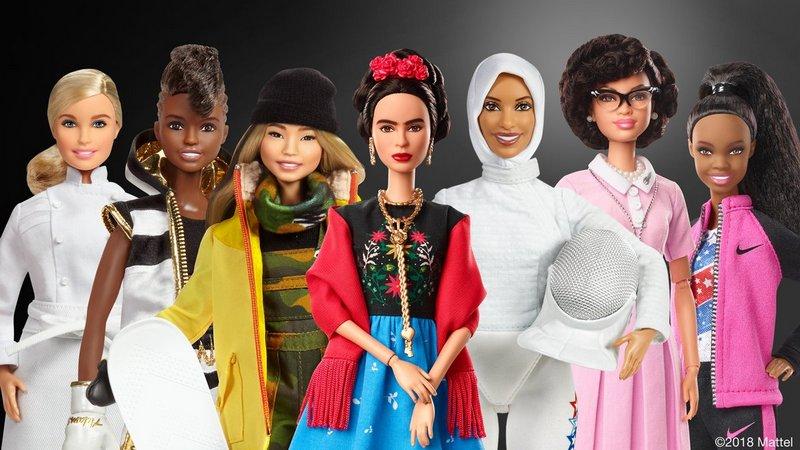 Исторические выдающиеся женщины стали образом для коллекции кукол Барби