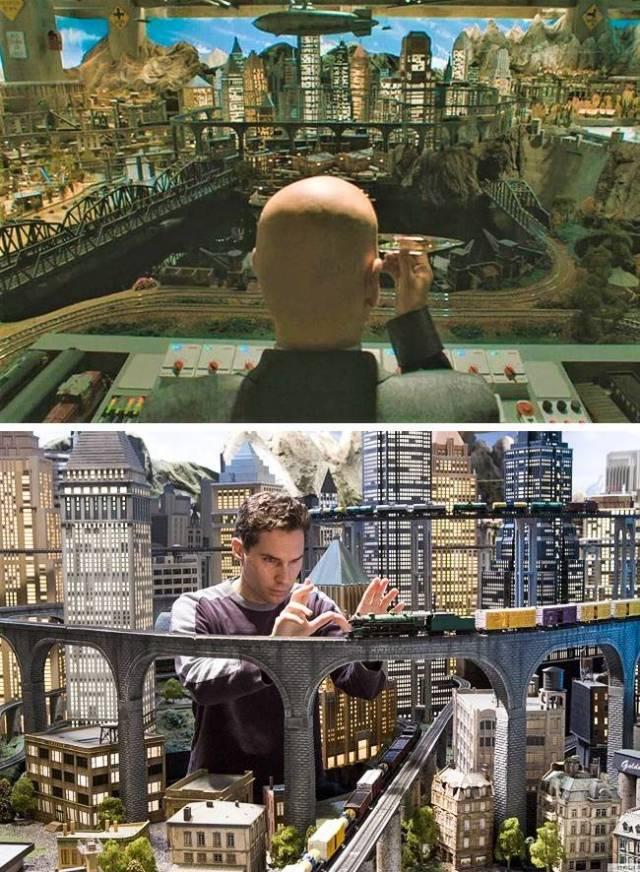 Точные макеты для кино