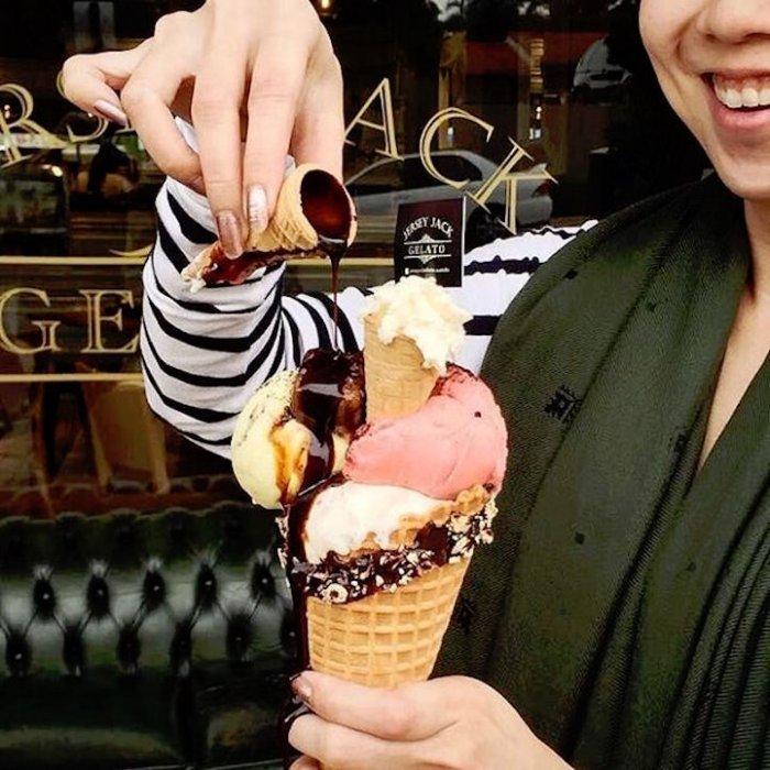 Монстры мороженого и молочных коктейлей