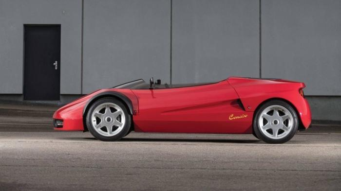 Conciso - самый странный концепт Ferrari