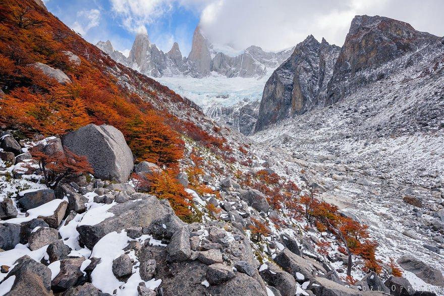 Красоты Патагонии в фотографиях Дору Опришана