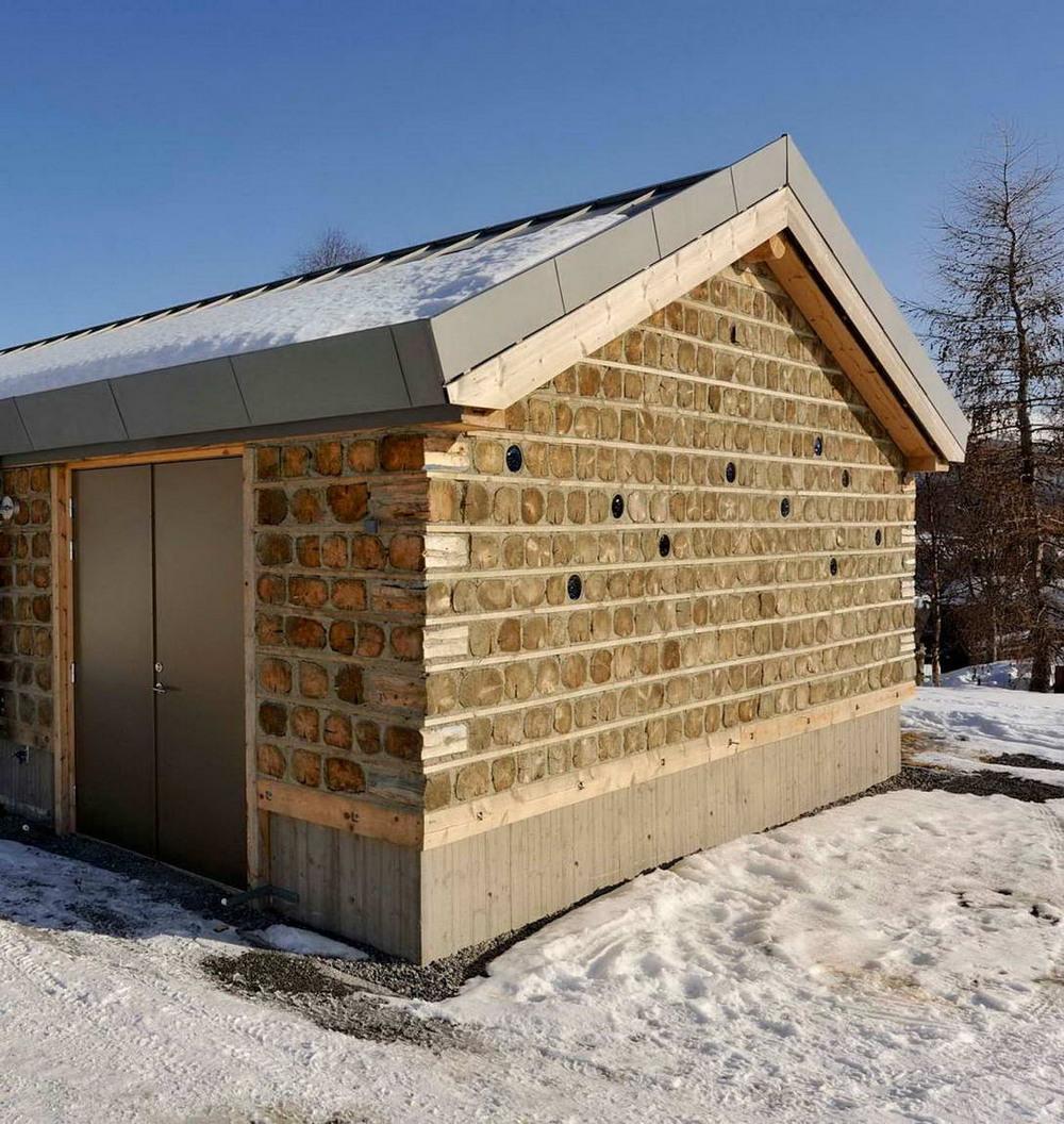 Бревенчатое шале в Норвегии