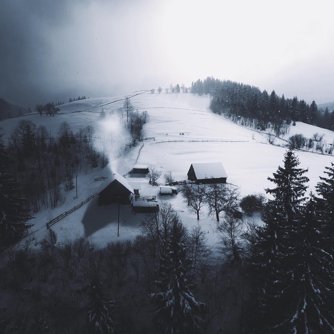 Украинские пейзажи от Назария Дорошкевича