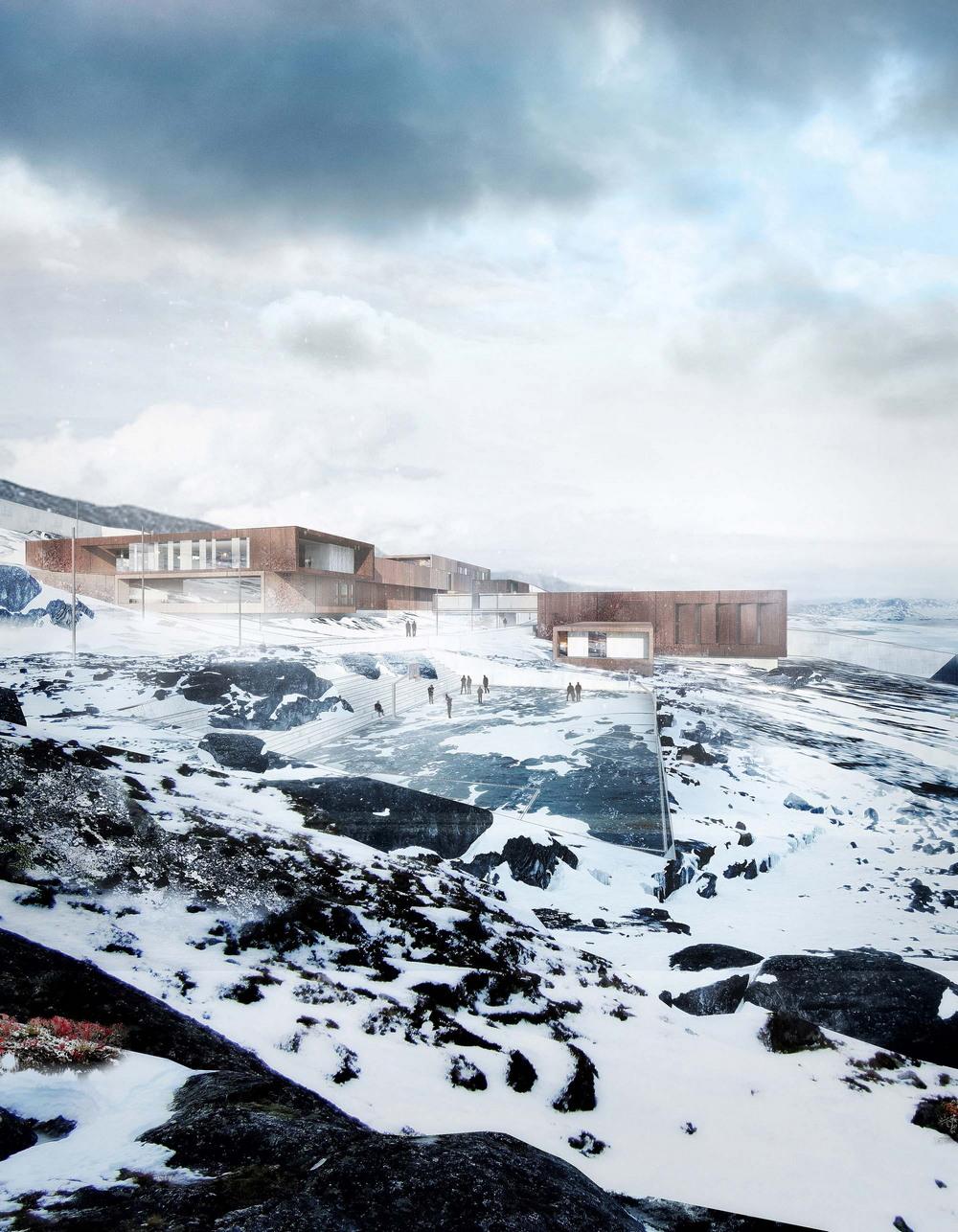 Гуманная тюрьма в Гренландии, которая больше похожа на курорт