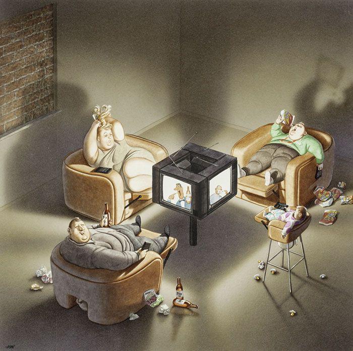 Недостатки современного общества в работах Герхарда Хадерера