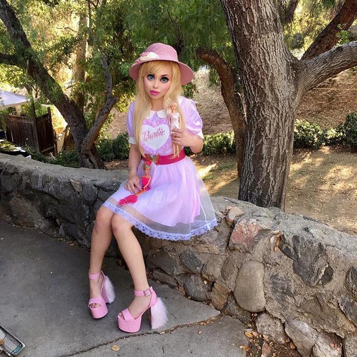 Офелия Ванити: живая кукла Барби