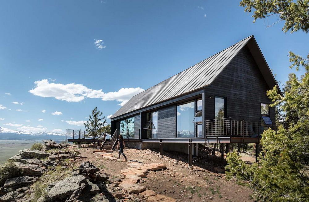 Два домика для отдыха на природе в США