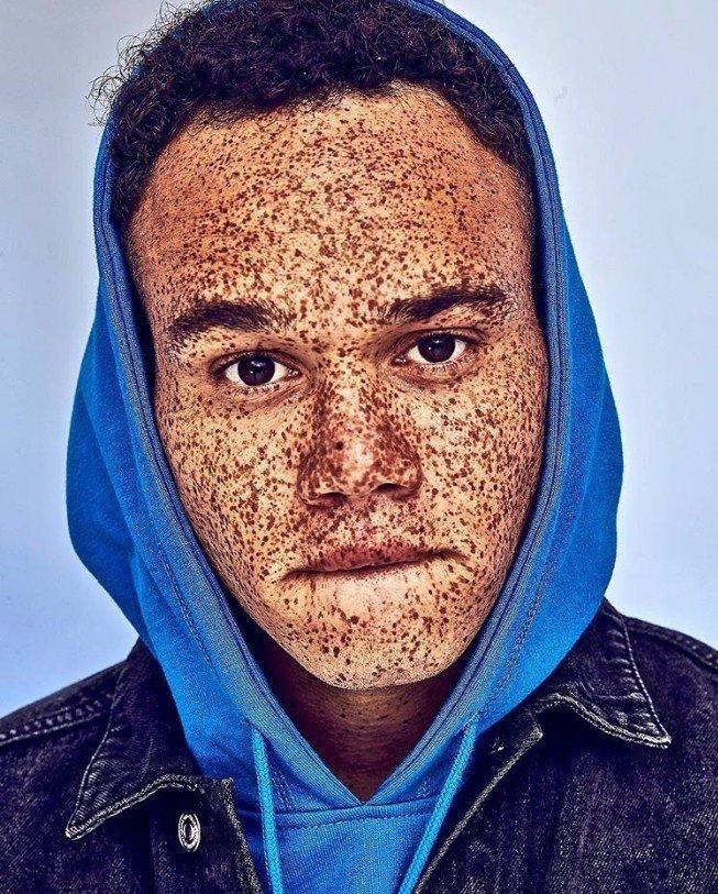 Фотографии не совсем обычной внешности людей